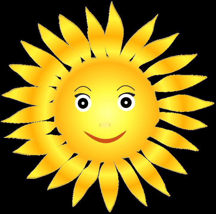 Картинка большое солнышко