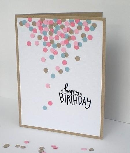 Оригинальная открытка лучшей подруге на день рождения своими руками