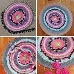Плетение ковров своими руками – 12 необычных идей как сделать коврики из старых вещей