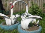 Как из пакрышек зделать лебедей – пошаговая инструкция с фото и видео