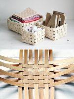 Что можно сделать из шпона своими руками – технология и приемы плетения корзин