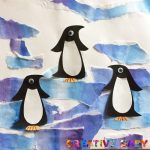Пингвин шаблоны для аппликации – Аппликация «Пингвины на льдине» (+шаблон для печати)