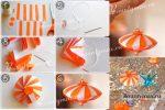 Новогодние игрушки своими руками из бумаги схемы – Объемные елочные игрушки из бумаги: пошаговый фото-обзор