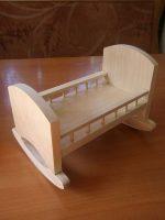 Кроватка для пупса своими руками – Делаем деревянную кроватку для кукол