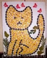 Осенняя поделка из шишек в детский сад – Поделки из шишек, осенних листьев, семян, соломки (фото)